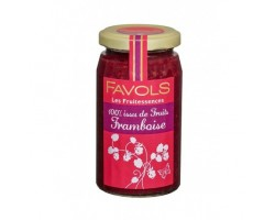 Confiture Framboise 100% Fruits