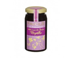 Confiture Myrtille Sauvage 100% Fruits